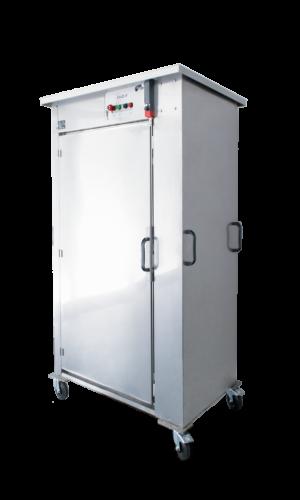Armoire de désinfection C-RACK OZON Petite Enfance Hygiène Propreté Assainissement cabine ozone solution